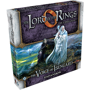 The Lord of the Rings LCG The Voice of Isengard Deluxe Expansion