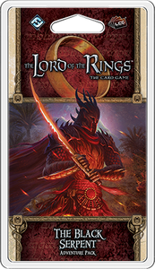 The Lord of the Rings LCG The Black Serpent Adventure Pack