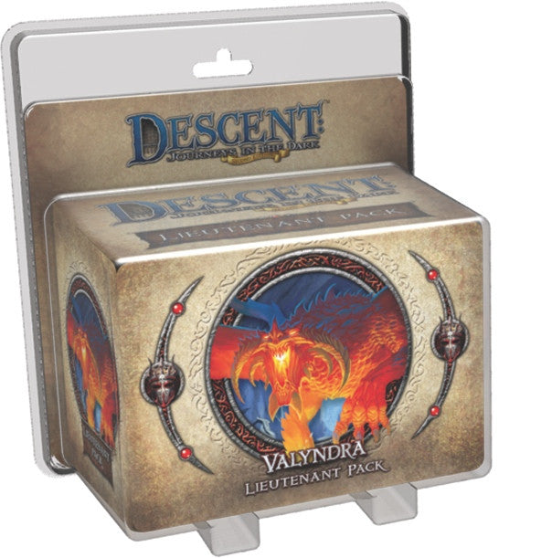 Descent Journeys In The Dark Second Edition Valyndra Lieutenant Pack