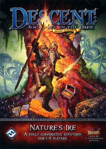 Descent Journeys In The Dark Second Edition Nature's Ire A Fully Cooperative Expansion