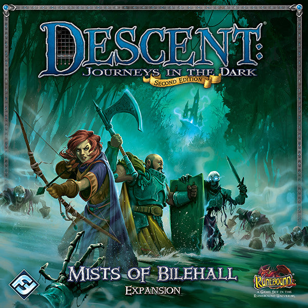Descent Journeys In The Dark Second Edition Mists Of Bilehall Expansion Game