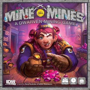 Mine all Mines - Dwarven Mining Game