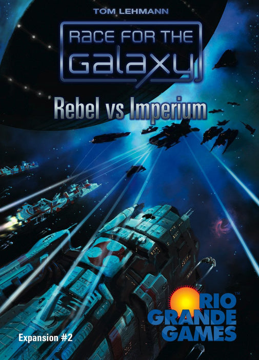Race for the Galaxy Rebel vs Imperium Expansion