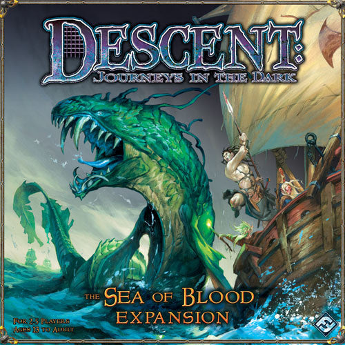 Descent Journeys In the Dark The Sea of Blood Expansion