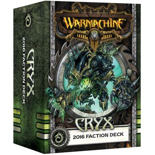 Warmachine Cryx 2016 Faction Deck