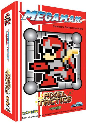 Pixel Tactics Mega Man Red Box