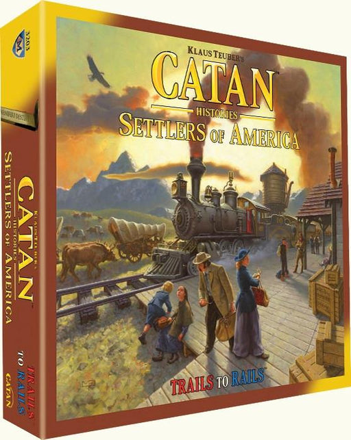Catan Histories Settlers Of America Trail to Rails Game