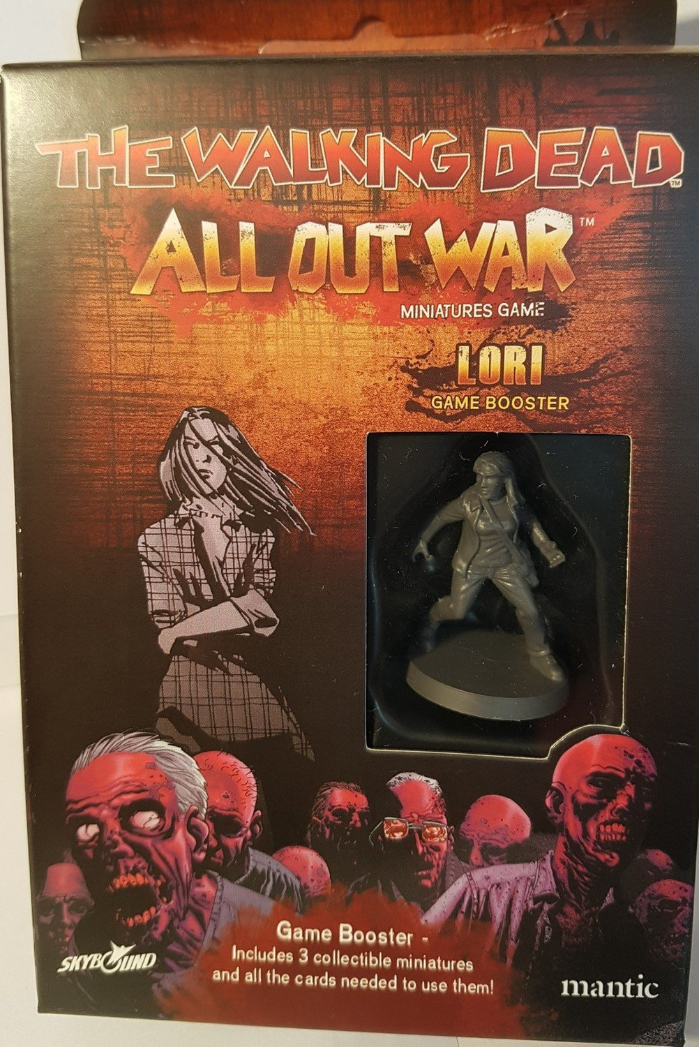 The Walking Dead All Out War Lori Booster Expansion