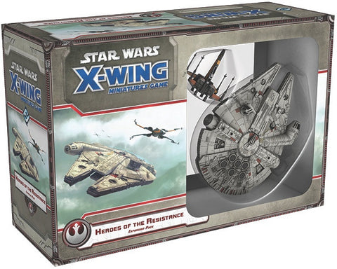Star Wars X-Wing Miniatures Game The Force Awakens Heroes of the Resistance Expansion Pack