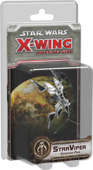 Star Wars X-Wing Miniatures Game Star Viper Expansion Pack