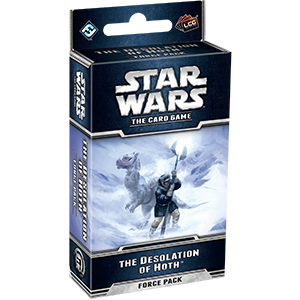 Star Wars LCG The Desolation of Hoth Force Pack