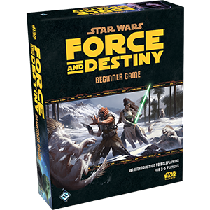 Star Wars RPG Force and Destiny Beginner Game