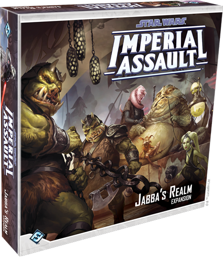 Star Wars Imperial Assault Jabba's Realm Campain Expansion
