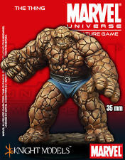 Marvel Universe Miniatures Game The Thing 35mm