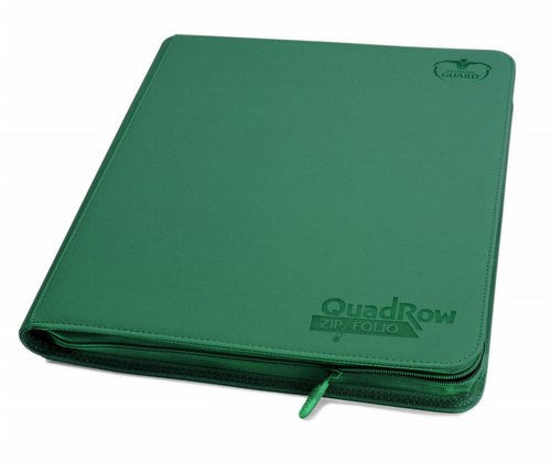 Ultimate Guard QuadRow ZipFolio Xeno Green