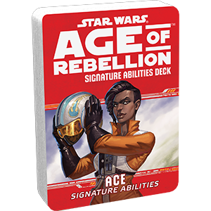 Star Wars Age of Rebellion Ace Signature Abilities Deck