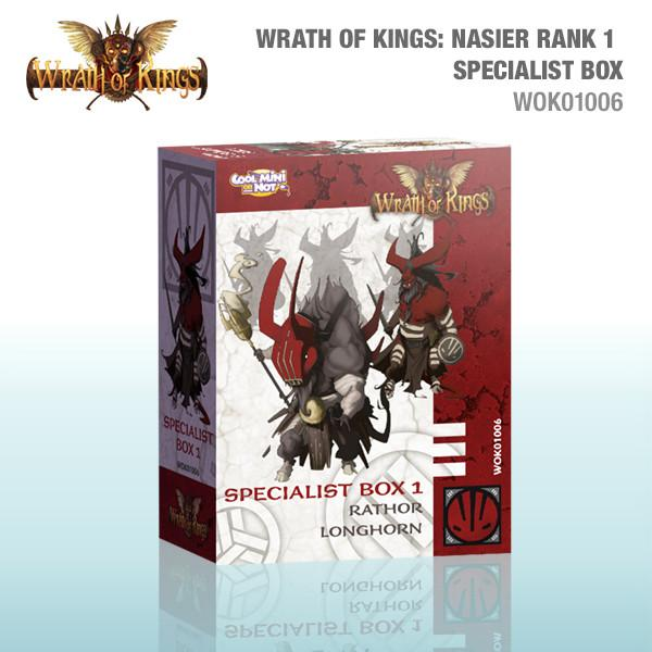 Wrath of Kings: House Nasier Specialist Box 1
