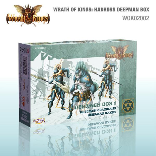 Wrath of Kings: House Hadross Deepmen Box 1