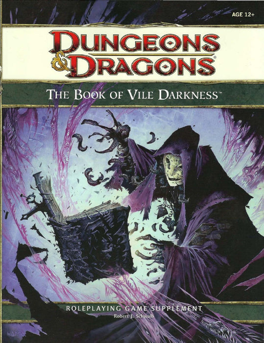 Dungeons & Dragons The Book of Vile Darkness