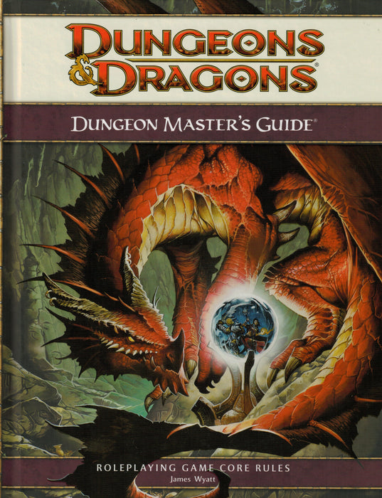 Dungeons & Dragons Dungeon Master's Guide Roleplaying Game Core Rules 4th Edition