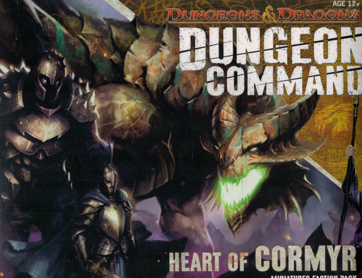 Dungeons & Dragons Dungeon Of Command Heart Of Cormyr Miniatures Faction Pack