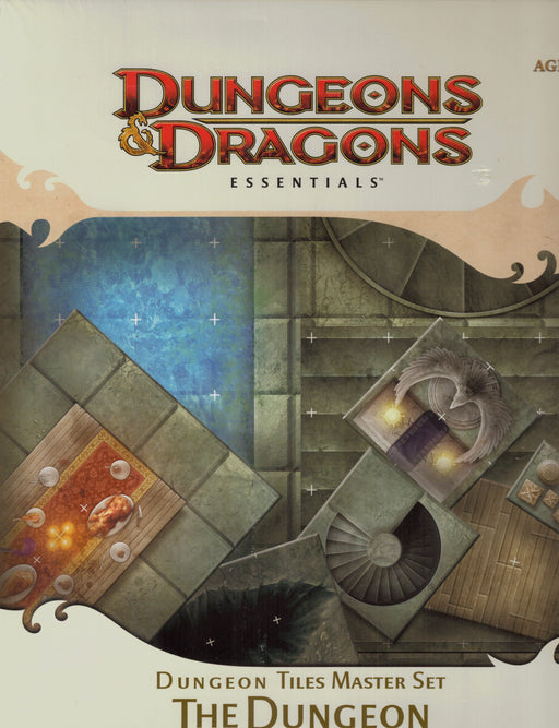 Dungeons & Dragons Essentials Dungeon Tiles Master Set The Dungeon