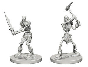 Dungeons & Dragons Nolzur's Marvelous Unpainted Miniatures Skeletons