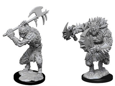 Dungeons & Dragons Nolzur's Marvelous Unpainted Miniatures Gnolls