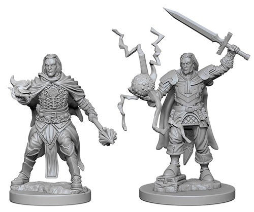 Deep Cuts Pathfinder Unpainted Miniatures Human Male Cleric