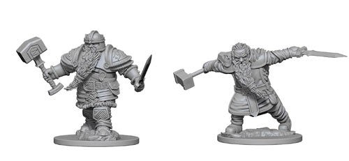 Dungeons & Dragons Nolzur's Marvelous Unpainted Miniatures Dwarf Male Fighter