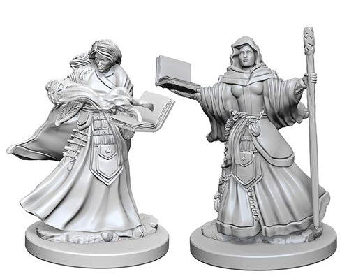 Dungeons & Dragons Nolzur's Marvelous Unpainted Miniatures Human Female Wizard
