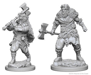 Dungeons & Dragons Nolzur's Marvelous Unpainted Miniatures Human Male Barbarian