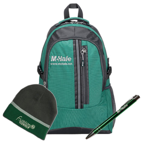 McHale Back to School Pack -Backpack, Beanie Hat & Pen