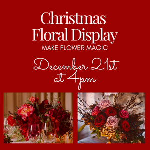 Make Your Own Christmas Display - Workshops & Classes - Going Bloom - boise_wholesale_flowers - Boise_Flower_Market