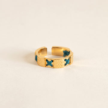 bague camille enrico broderie or france