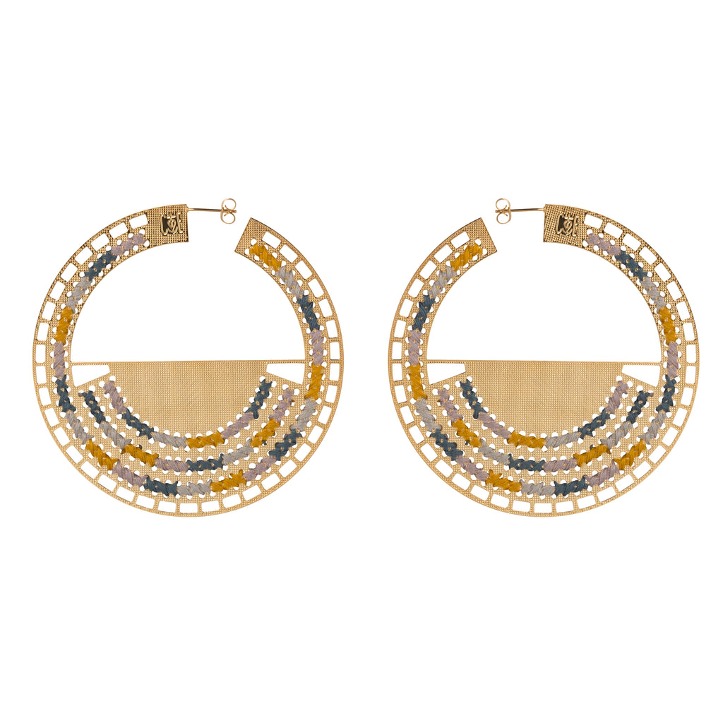 Boucles d'oreille PHILAE Or