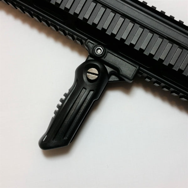 CYMA FOLDABLE VERTICAL FRONT GRIP - BLACK - Fishbone Airsoft Company