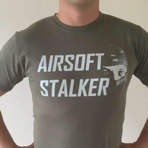 AIRSOFT STALKER T-Shirt Olive - Fishbone Airsoft Company