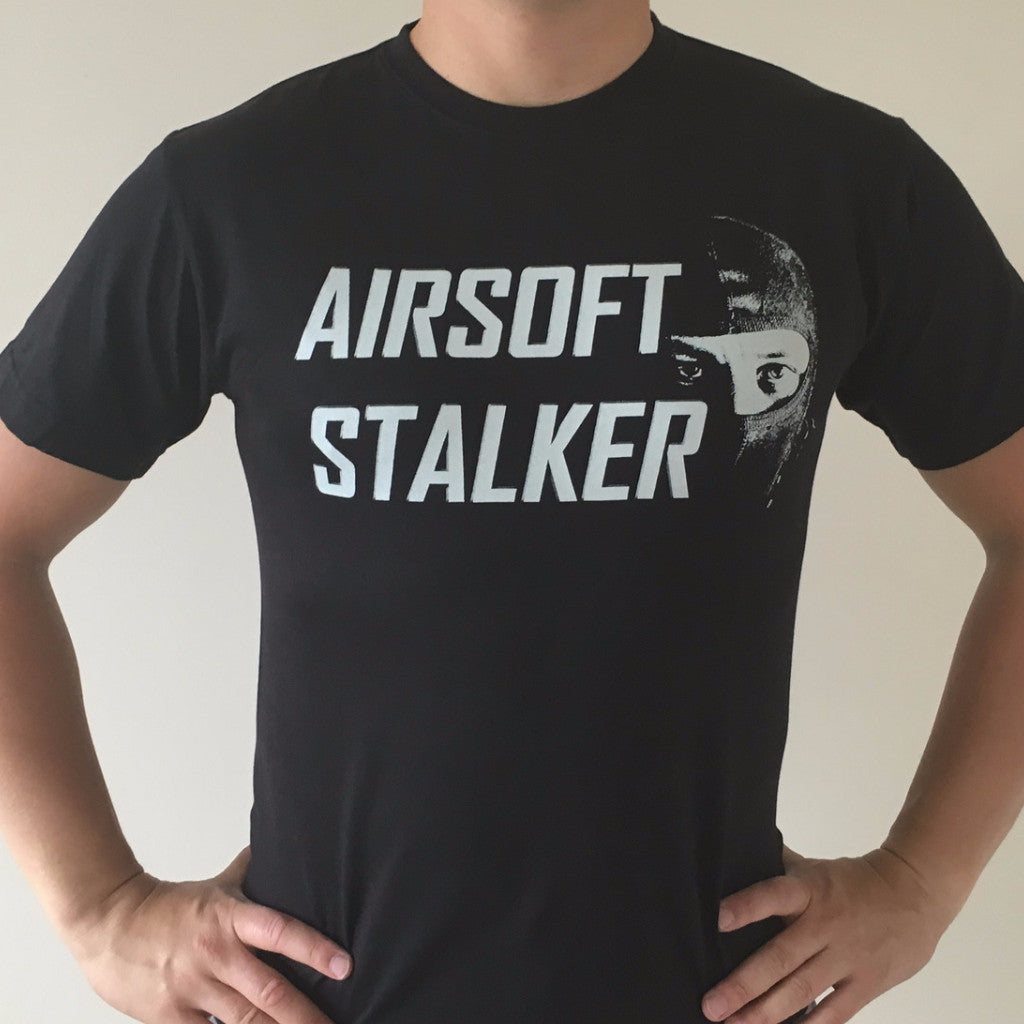 AIRSOFT STALKER T-Shirt Black - Fishbone Airsoft Company