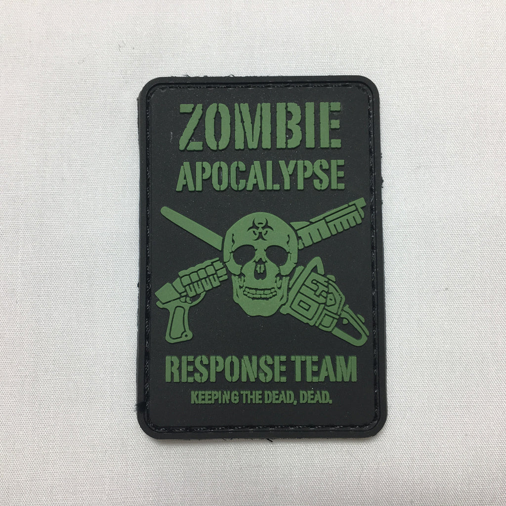 Zombie Apocalypse Response Morale Patch - Fishbone Airsoft Company