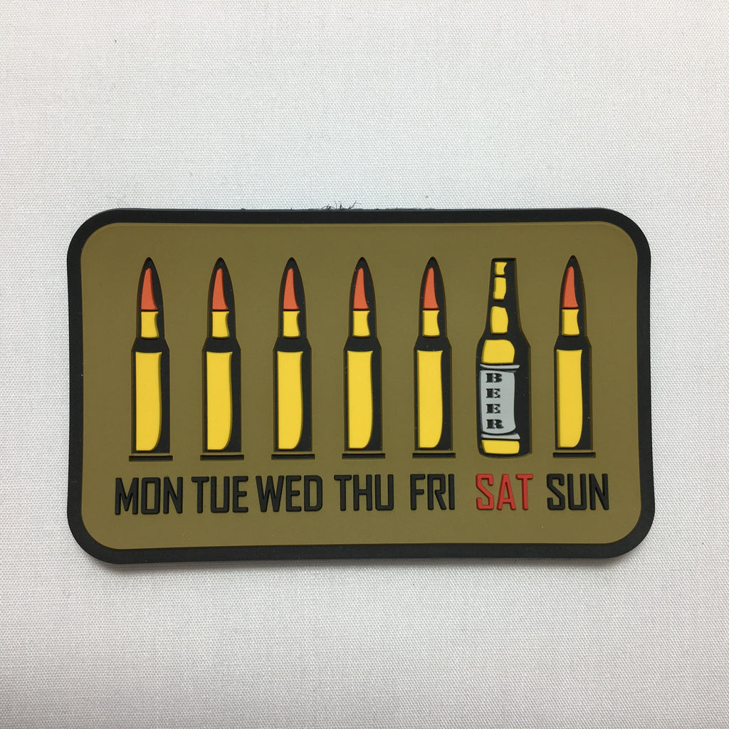 Guy's Week - Morale Patch - Fishbone Airsoft Company