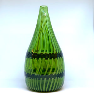 Hand blown glass by Rebeccah Byer the director at The Olio.