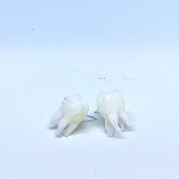 Teeth Earrings by Sarah Band