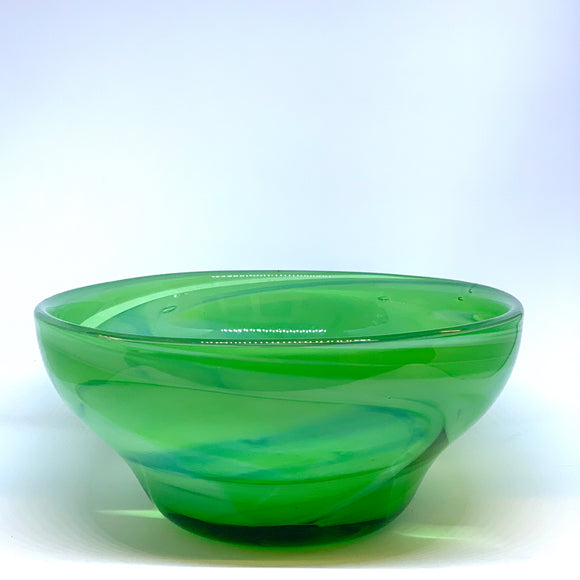 Emerald Bowl by Nicholas Burton Bragg