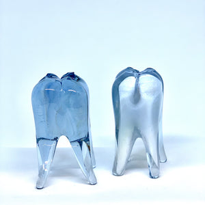 Hot Sculpted Glass Teeth by Sarah Band