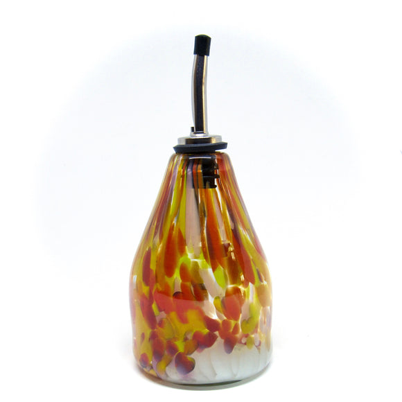 Hand Blown Glass Oil Dispenser