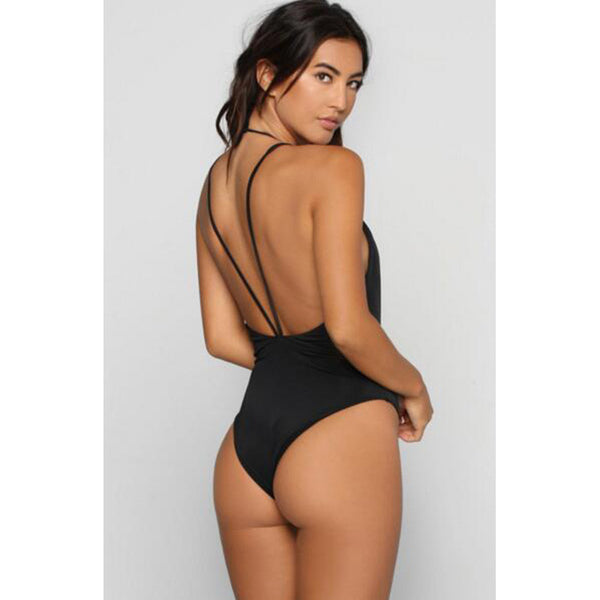 Karly Black One Piece Swimsuit