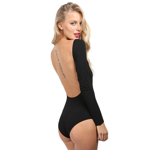 Ella Black Bodysuit