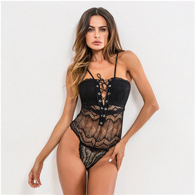 Lilia Lace Up Bodysuit