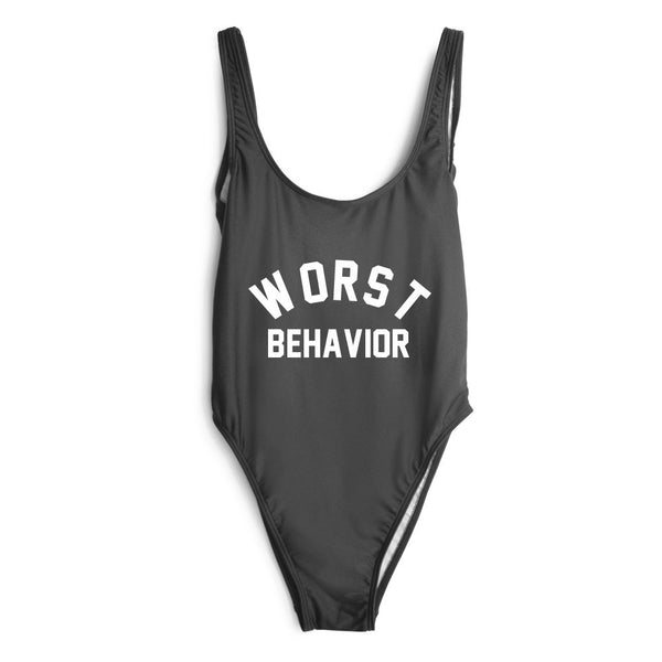 Worst Behavior One Piece Swimsuit